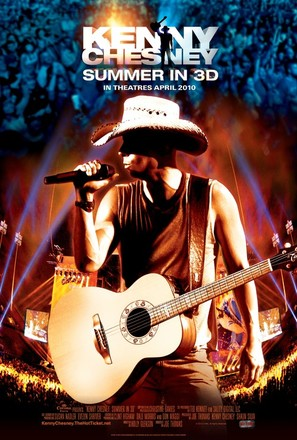Kenny Chesney: Summer in 3D - Movie Poster (thumbnail)