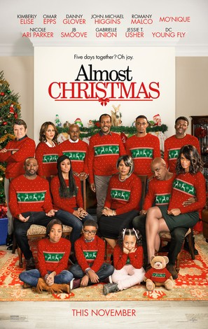 Almost Christmas - Movie Poster (thumbnail)