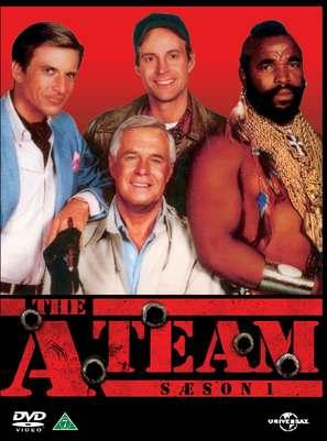 """The A-Team"" - Danish DVD movie cover (thumbnail)"