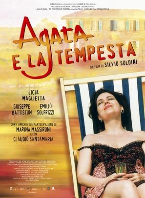 Agata e la tempesta - Italian Movie Poster (thumbnail)