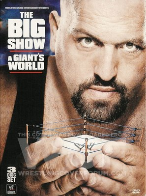 WWE Big Show: A Giants World - DVD movie cover (thumbnail)