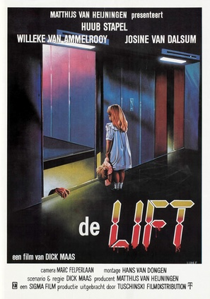 De lift - Dutch Movie Poster (thumbnail)