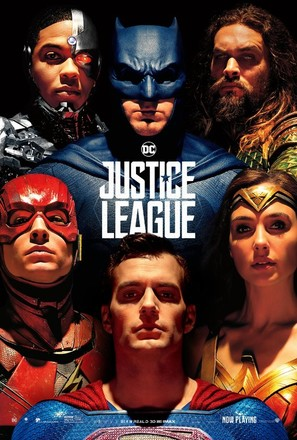 Justice League - Movie Poster (thumbnail)