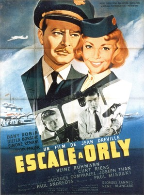 Escale à Orly - French Movie Poster (thumbnail)