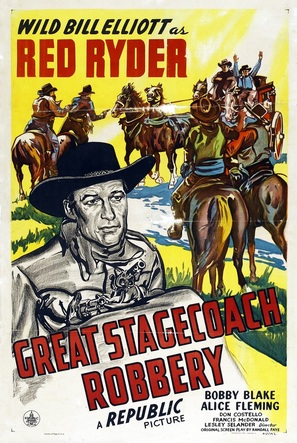 Great Stagecoach Robbery - Theatrical poster (thumbnail)