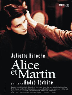 Alice et Martin - French Movie Poster (thumbnail)