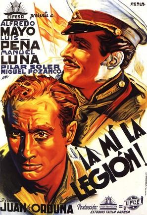 ¡A mí la legión! - Spanish Movie Poster (thumbnail)