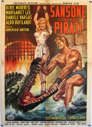 Sansone contro i pirati - Italian Movie Poster (thumbnail)