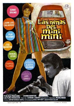 Las nenas del mini-mini - Spanish Movie Poster (thumbnail)