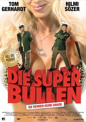 Die Superbullen - Immer Freund und Helfer - German Movie Poster (thumbnail)