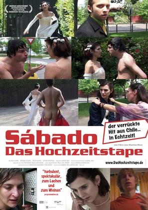 Sábado, una película en tiempo real - German poster (thumbnail)