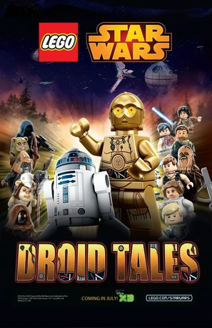 """""""Lego Star Wars: Droid Tales"""" - Movie Poster (thumbnail)"""