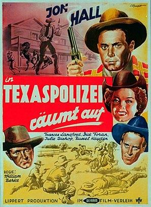 Deputy Marshal - German Movie Poster (thumbnail)
