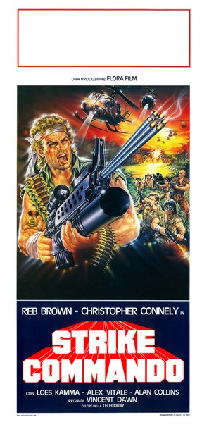Strike Commando - Italian Movie Poster (thumbnail)