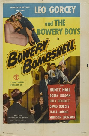 Bowery Bombshell - Movie Poster (thumbnail)