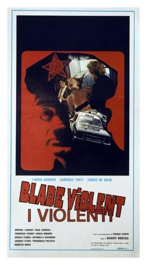 Blade Violent - I violenti - Italian Movie Poster (thumbnail)
