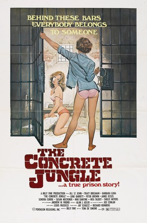 The Concrete Jungle - Movie Poster (thumbnail)