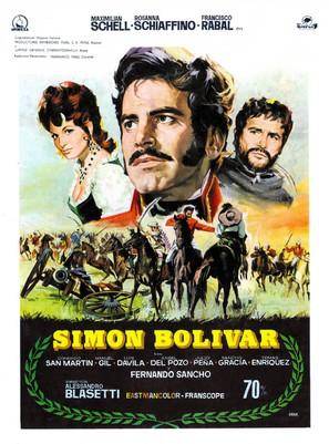 Simón Bolívar - Spanish Movie Poster (thumbnail)