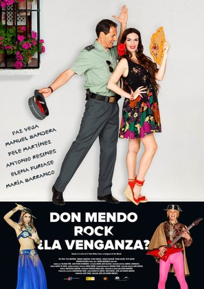 Don Mendo Rock ¿La venganza? - Spanish Movie Poster (thumbnail)