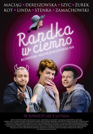 Randka w ciemno - Polish Movie Poster (thumbnail)