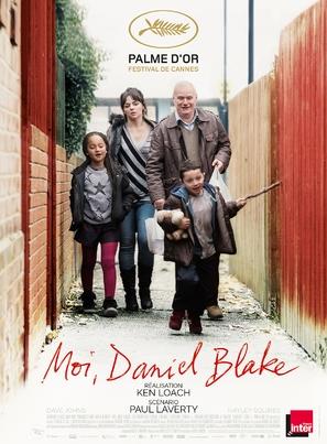 I, Daniel Blake - French Movie Poster (thumbnail)