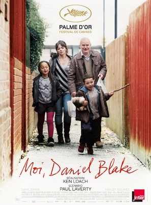 I, Daniel Blake - French Movie Poster (thumbnail)