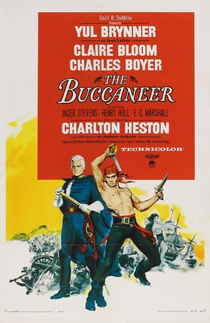 The Buccaneer - Movie Poster (thumbnail)