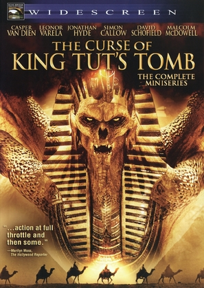 The Curse of King Tut's Tomb - DVD cover (thumbnail)