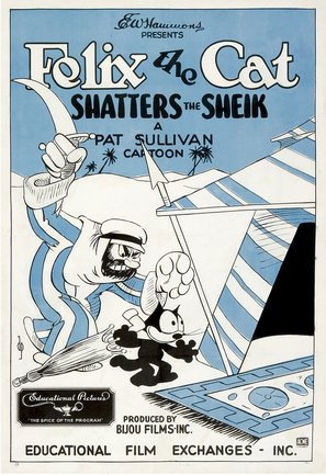 Felix the Cat Shatters the Sheik - Movie Poster (thumbnail)