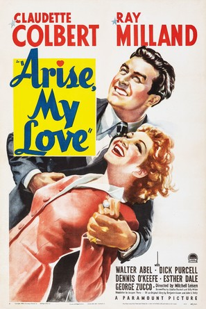 Arise, My Love - Movie Poster (thumbnail)