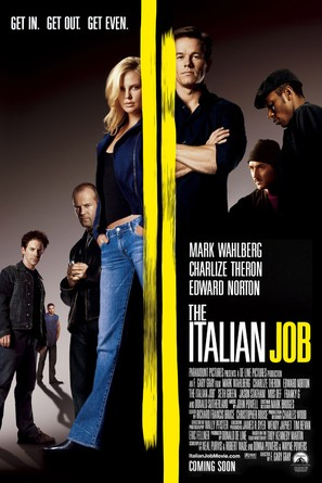 The Italian Job - Movie Poster (thumbnail)