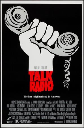 Talk Radio - Movie Poster (thumbnail)