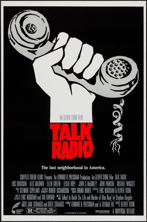 Talk Radio - Movie Poster (thumbnail)