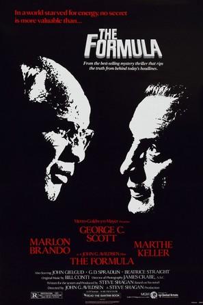 The Formula - Movie Poster (thumbnail)
