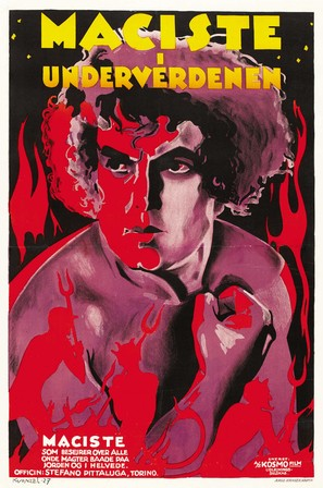 Maciste all'inferno - Danish Movie Poster (thumbnail)