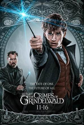 Fantastic Beasts: The Crimes of Grindelwald - Movie Poster (thumbnail)