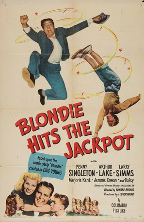 Blondie Hits the Jackpot - Movie Poster (thumbnail)