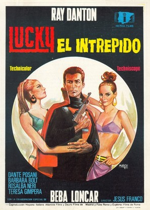 Lucky, el intrépido - Spanish Movie Poster (thumbnail)