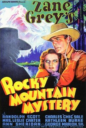 Rocky Mountain Mystery - Movie Poster (thumbnail)
