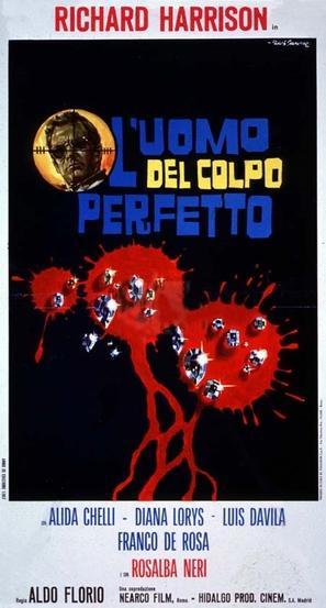 L'uomo del colpo perfetto - Italian Movie Poster (thumbnail)