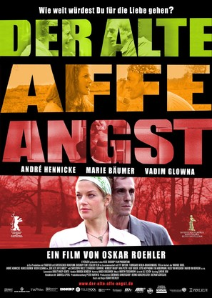 Der alte Affe Angst - German Movie Poster (thumbnail)