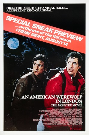 An American Werewolf in London - Advance poster (thumbnail)