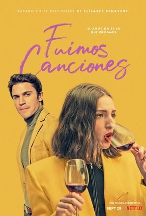 Fuimos canciones - Spanish Movie Poster (thumbnail)