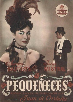 Pequeñeces - Spanish Movie Poster (thumbnail)