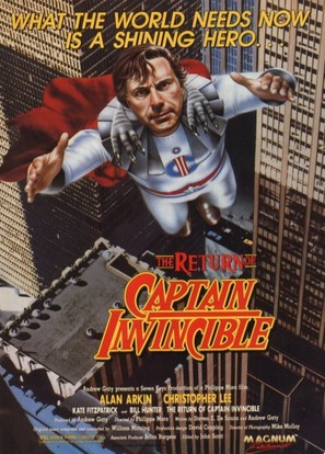 The Return of Captain Invincible - Movie Poster (thumbnail)
