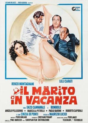 Il marito in vacanza - Italian Movie Poster (thumbnail)