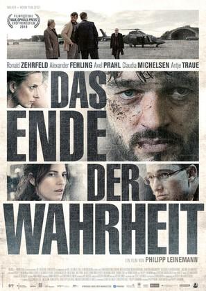 Das Ende der Wahrheit - German Movie Poster (thumbnail)