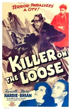 Killer at Large - Movie Poster (thumbnail)