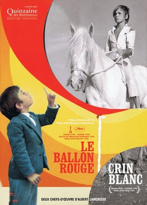 Le ballon rouge - French Movie Poster (thumbnail)