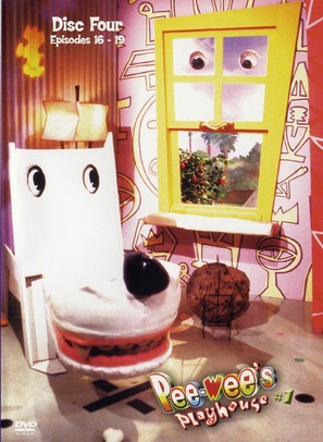 """""""Pee-wee's Playhouse"""" - DVD movie cover (thumbnail)"""